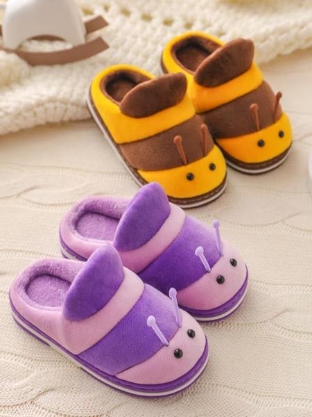 寶寶棉拖鞋1-3歲冬季男童女童兒童2可愛室內防滑嬰幼兒小孩家居鞋 滿天星