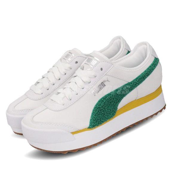 Puma 休閒慢跑鞋 Roma Amor Heritage Wns 米白 綠 女鞋 運動鞋 【PUMP306】 37094704