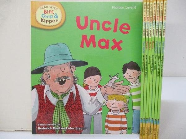 【書寶二手書T1/少年童書_BQY】Read With Biff. Chip&Kipper-Uncle Max等_共8本合售
