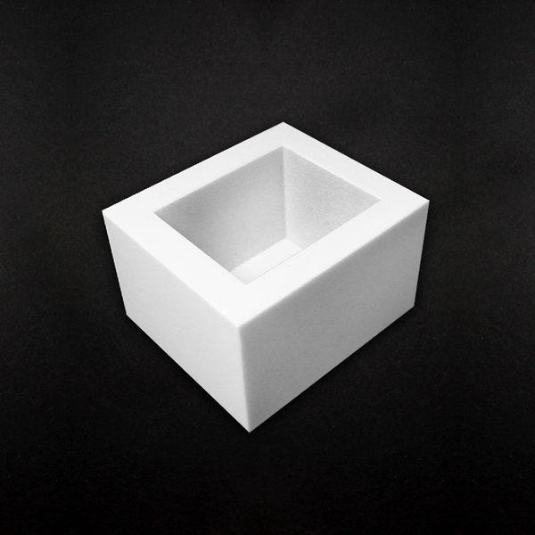【香草工房】 600cc白色矽膠模