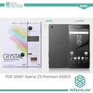 NILLKIN SONY Xperia Z5 Premium / Z5P E6853 超清防指紋保護貼 螢幕膜 高清貼 (附鏡頭貼)