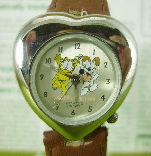 【震撼精品百貨】加菲貓~手錶~銀愛心【共1款】