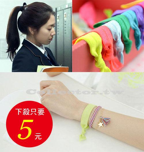 【超取399免運】韓劇 繼承者們  朴信惠同款髮帶 糖果色