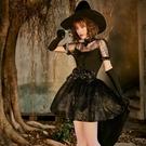 萬圣節服裝女成人女裝cosplay大人燕尾服巫婆派對舞會演出服 解憂