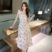洋裝 無敵美長款連身裙-媚儷香檳-【D1913】
