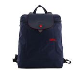 【LONGCHAMP】LE PLIAGE CLUB尼龍折疊後背包(海軍藍) L1699 619 556