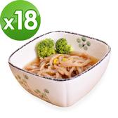樂活e棧 低卡蒟蒻麵 海藻烏龍+濃湯(共18份)