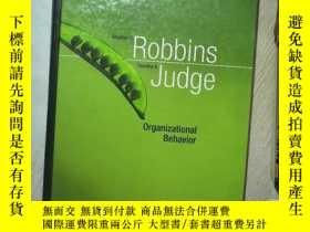 二手書博民逛書店Organizational罕見Behavior ROBBINS JUDGE FOURTEENTH EDITION