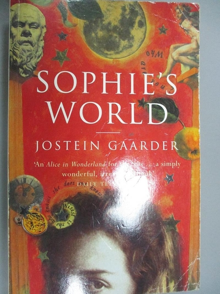 【書寶二手書T8/原文小說_IHM】Sophie s world-a novel about the history o