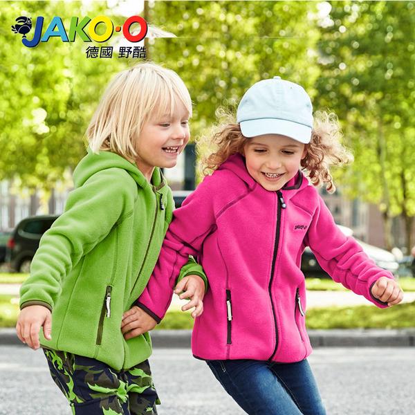 JAKO-O德國野酷-POLARTEC®連帽外套-海軍藍