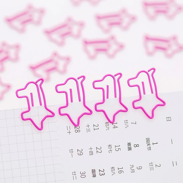 【BlueCat】桃色小豬豬造型迴紋針(6入)