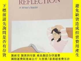 二手書博民逛書店the罕見voice of reflection:a write