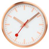 MONDAINE 瑞士國鐵 CLOCK PURE限量版掛鐘 – 銅色 / 25cm XM-CLOCK17K