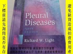二手書博民逛書店Pleural罕見Diseases [胸膜疾病] 原版精裝Y16