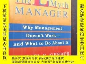 二手書博民逛書店The罕見E-Myth Manager: Why Managem