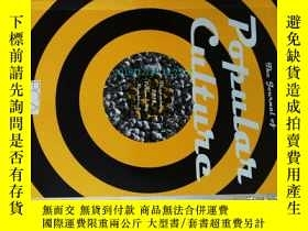 二手書博民逛書店The罕見Journal of Popular Culture