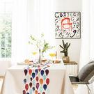 時尚可愛空間餐桌布 茶几布 隔熱墊 鍋墊 杯墊 餐桌巾401  (140*140cm)