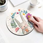 滑鼠墊小號可愛女生卡通加厚游戲超大加厚電腦筆記本桌墊 歐亞時尚