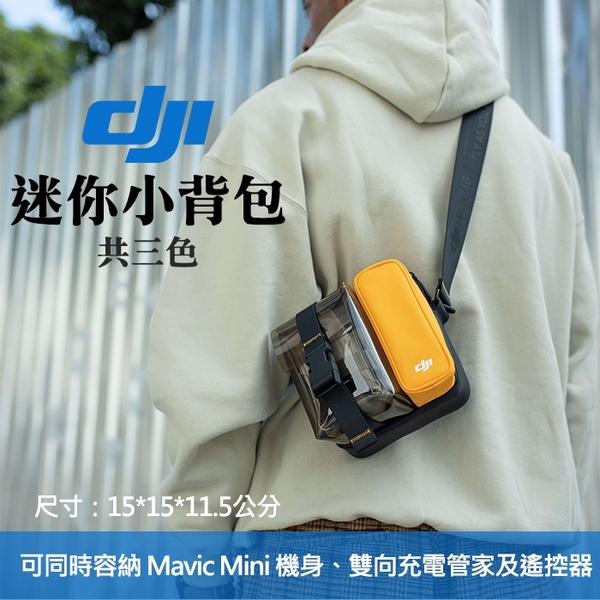 【迷你小背包】原廠 DJI 大疆 小背囊 側背 收納 旅行保護包 Mavic Mini Osmo Pocket 公司貨