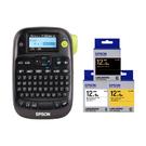 【任選市價399原廠標籤帶3捲】EPSON LW-K400 家商用行動可攜式標籤機