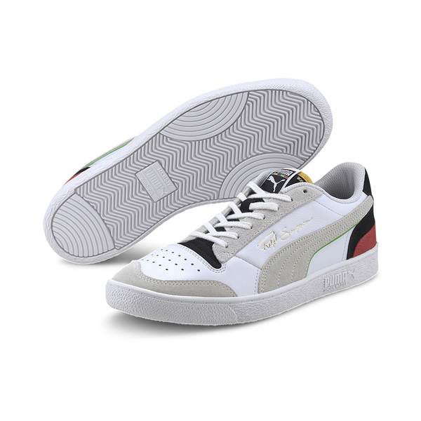 PUMA RALPH SAMPSON UNITY系列 男款白灰黑拼色休閒鞋-No.37474901