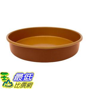 [8美國直購] 不沾鍋 Gotham Steel Ti-Cerama Nonstick 9.5-Inch Round Baking Pan in Grey/Copper