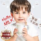 【現貨12H出貨】個性牛奶杯 雙層隔熱 玻璃杯250ml