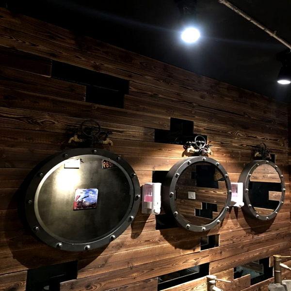 《7color camera》工業風 掛鏡 立鏡 鏡子 圓鏡 化妝鏡 衛浴鏡子