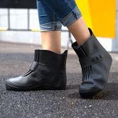 雨易思防水防雨鞋套加厚底耐磨女雨天防滑兒童學生水鞋男 萬聖節