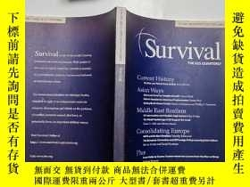 二手書博民逛書店【英文原版】Survival罕見THE IISS QUARTER