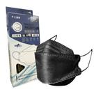 【久富餘】KF94 - 4D成人醫療防護口罩 雙升級(石墨黑) 10片/盒