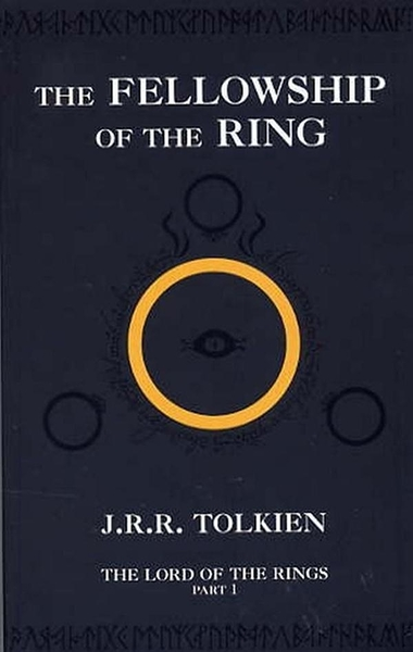 (二手書)Lord of the Rings (Part I): Fellowship of the Ring