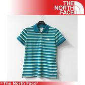 【The North Face 女 吸濕排汗POLO衫《藍》】A4CQ-15S/吸濕排汗/透氣/休閒/戶外★滿額送
