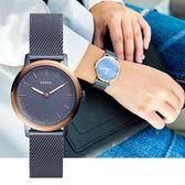 FOSSIL NEELY 藍灰質感簡約腕錶 ES4312 熱賣中!