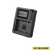 【南紡購物中心】Nitecore FX3 USB雙位電池充電座 For Fuji NP-W235