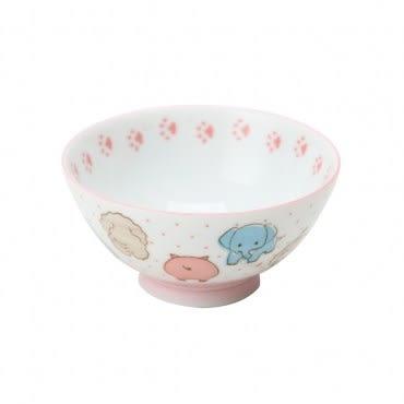 日本動物園茶碗10.5cm