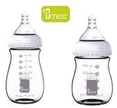 【預購】(4入/組)荷蘭 UMEE 寬口防脹氣玻璃奶瓶【六甲媽咪】