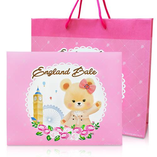 英國貝爾-倫敦玫瑰沐浴禮盒-1洗1沐1洗手1皂(含紙袋)(3盒)