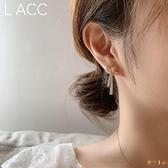 法式蝴蝶結滿鉆流蘇珍珠耳墜甜美耳飾耳釘耳環顯臉瘦【倪醬小鋪】