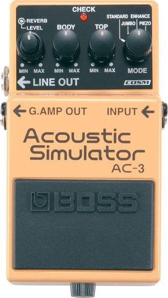 【金聲樂器廣場】全新  BOSS AC-3 空心吉他模擬效果器