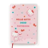 【震撼精品百貨】2020年曆~ Sanrio HELLO KITTY 2020年迷你口袋月記事手帳/行事曆-粉#45027
