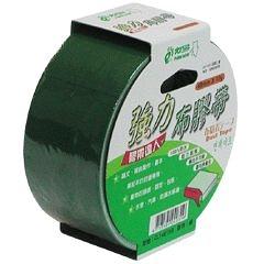 【奇奇文具】北極熊 CLT4815G綠色布紋膠帶48mm×15yds
