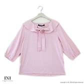 【INI】注目細緻、綁結細節迷人上衣.粉色