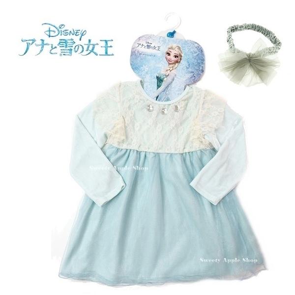 日本限定  迪士尼 FROZEN 冰雪奇緣 艾莎 ELSA 兒童 派對 連身裙 / 洋裝 (角色派對/萬聖節派對)