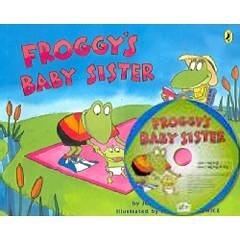 【麥克書店】FROGGY'S BABY SISTER/英文故事繪本+CD