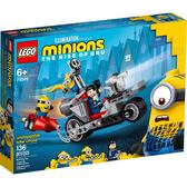 樂高積木LEGO《 LT75549》小小兵系列 -Unstoppable Bike Chase / JOYBUS玩具百貨