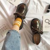 娃娃鞋小皮鞋女復古圓頭英倫厚底日繫娃娃鞋韓版學院風ins軟妹加絨單鞋 【時尚新品】