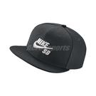 Nike 帽子 SB Cap Pro 黑 白 立體電繡 可調後扣式 男生女生 棒球帽 【ACS】 628683-013