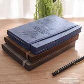復古羊巴皮面筆記本子文具軟皮質商務會議工作記錄本記事本大學生 【爆款特賣】