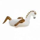 游泳圈 超大-充氣飛馬大型舒適水上活動坐騎浮板73ez14[時尚巴黎]